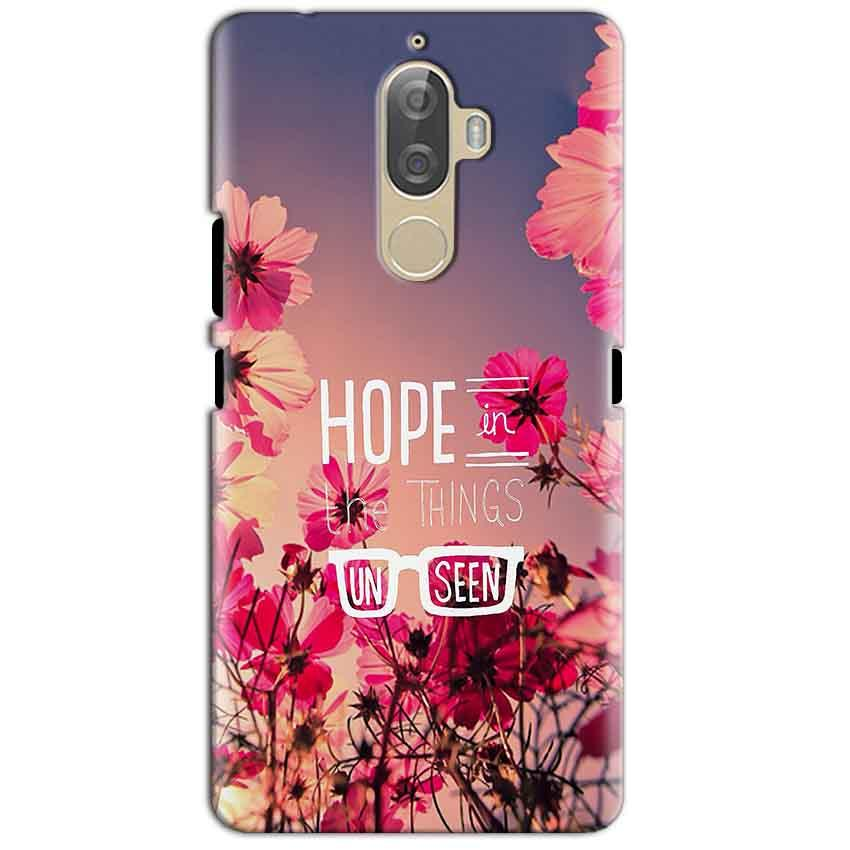 Lenovo K8 Plus Mobile Covers Cases Hope in the Things Unseen- Lowest Price - Paybydaddy.com