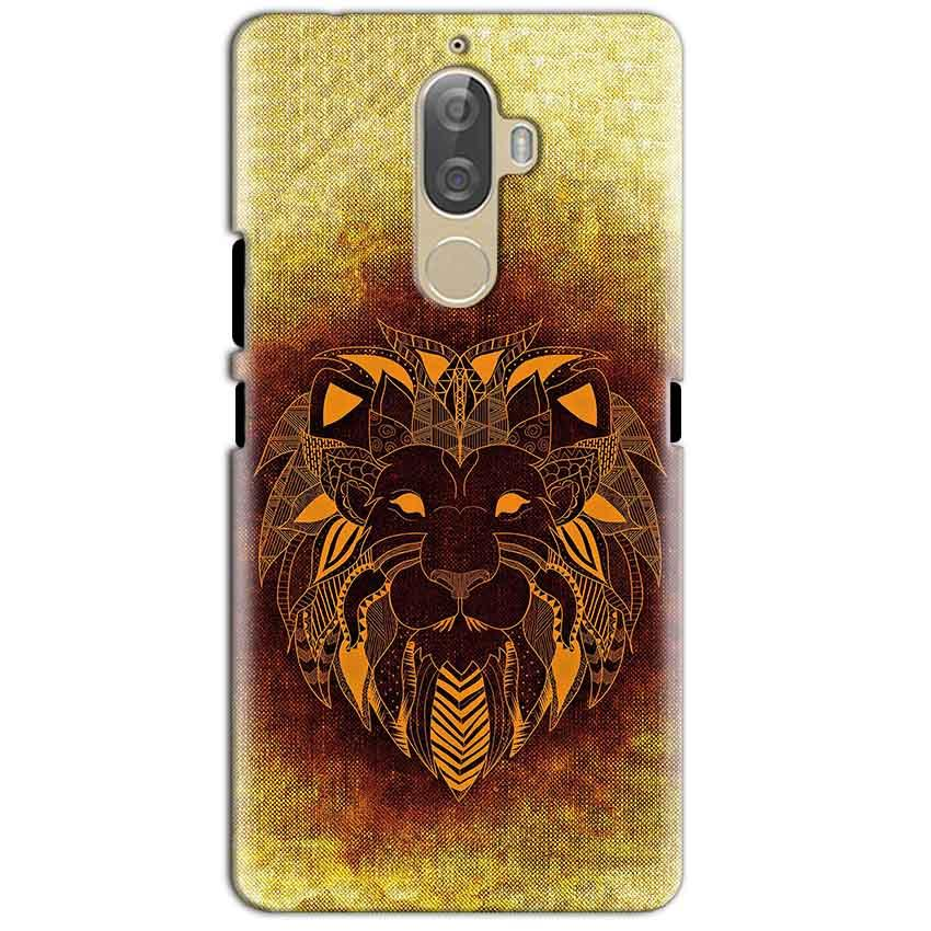 Lenovo K8 Plus Mobile Covers Cases Lion face art - Lowest Price - Paybydaddy.com