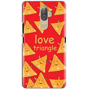 Lenovo K8 Plus Mobile Covers Cases Love Triangle - Lowest Price - Paybydaddy.com