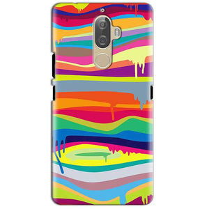 Lenovo K8 Plus Mobile Covers Cases Melted colours - Lowest Price - Paybydaddy.com