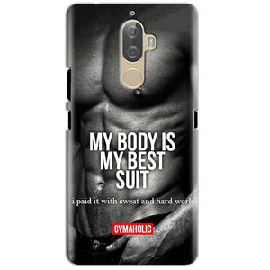 Lenovo K8 Plus Mobile Covers Cases My Body is my best suit - Lowest Price - Paybydaddy.com