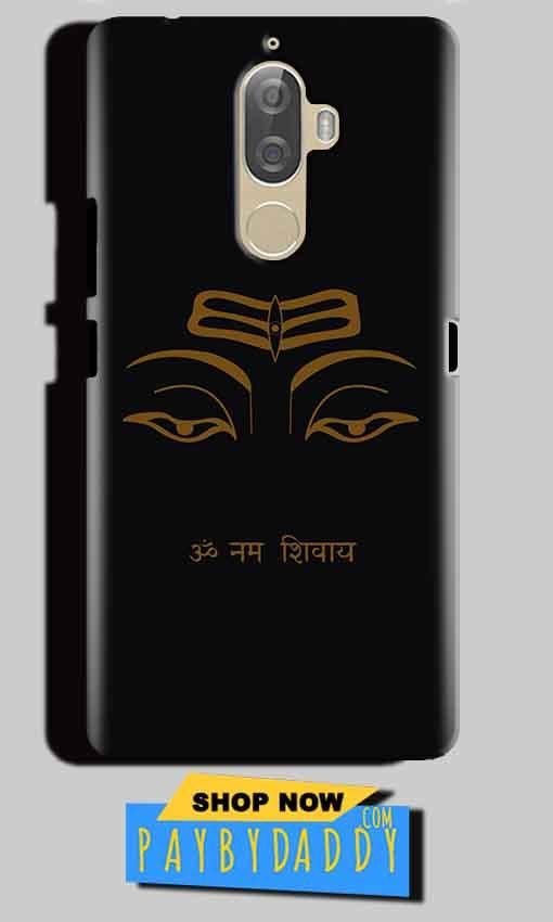 Lenovo K8 Plus Mobile Covers Cases Om Namaha Gold Black - Lowest Price - Paybydaddy.com