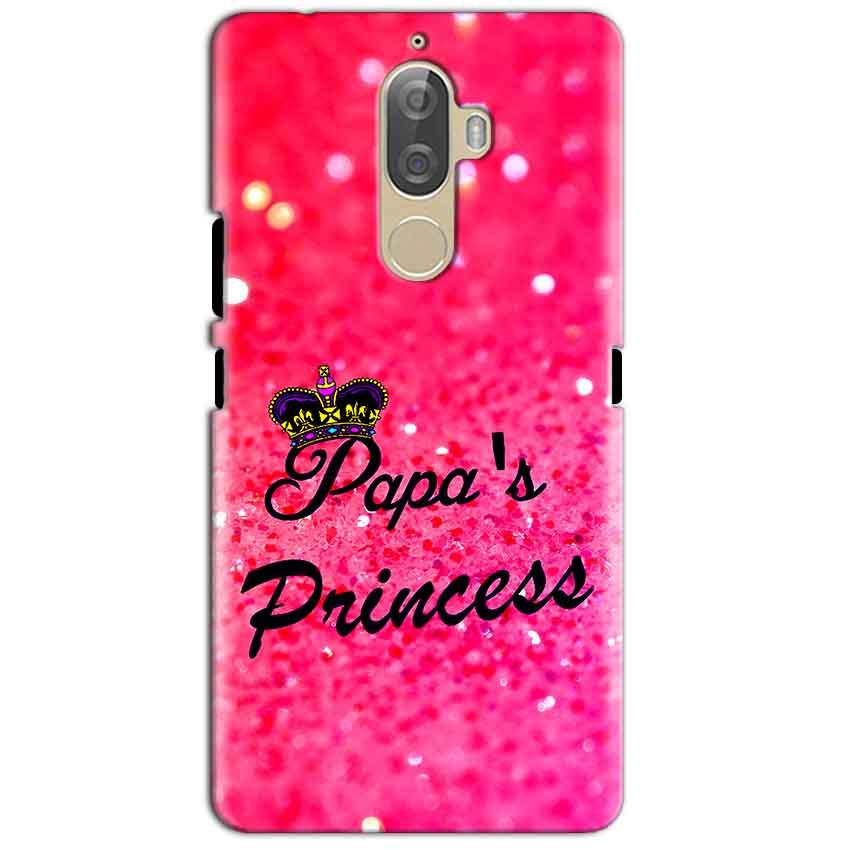 Lenovo K8 Plus Mobile Covers Cases PAPA PRINCESS - Lowest Price - Paybydaddy.com