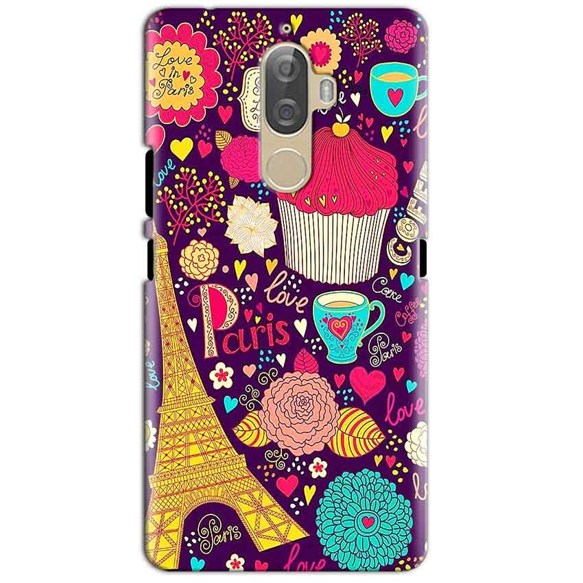 Lenovo K8 Plus Mobile Covers Cases Paris Sweet love - Lowest Price - Paybydaddy.com