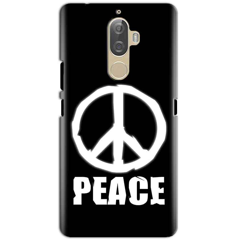 Lenovo K8 Plus Mobile Covers Cases Peace Sign In White - Lowest Price - Paybydaddy.com