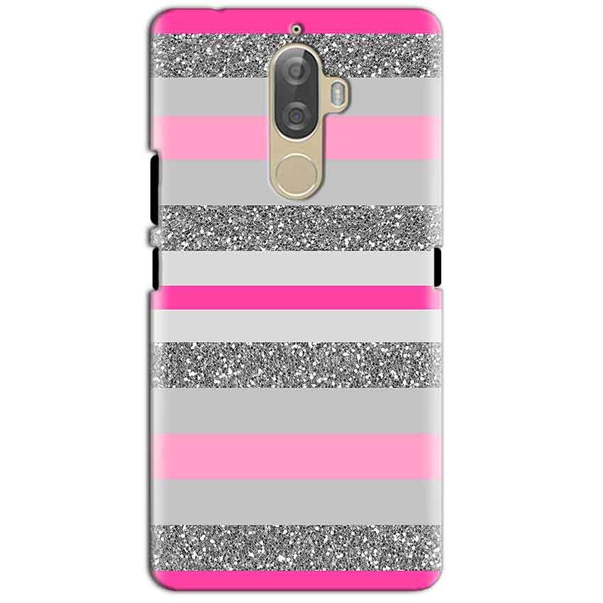 Lenovo K8 Plus Mobile Covers Cases Pink colour pattern - Lowest Price - Paybydaddy.com