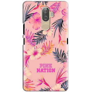 Lenovo K8 Plus Mobile Covers Cases Pink nation - Lowest Price - Paybydaddy.com