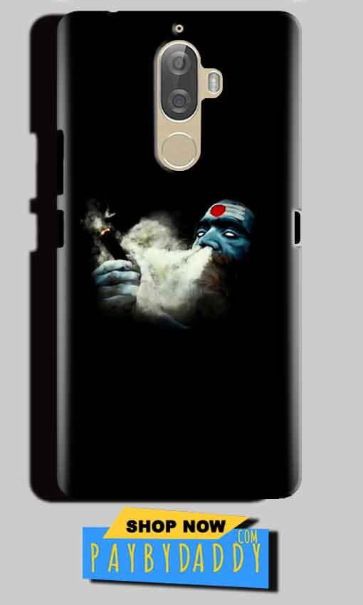 Lenovo K8 Plus Mobile Covers Cases Shiva Aghori Smoking - Lowest Price - Paybydaddy.com