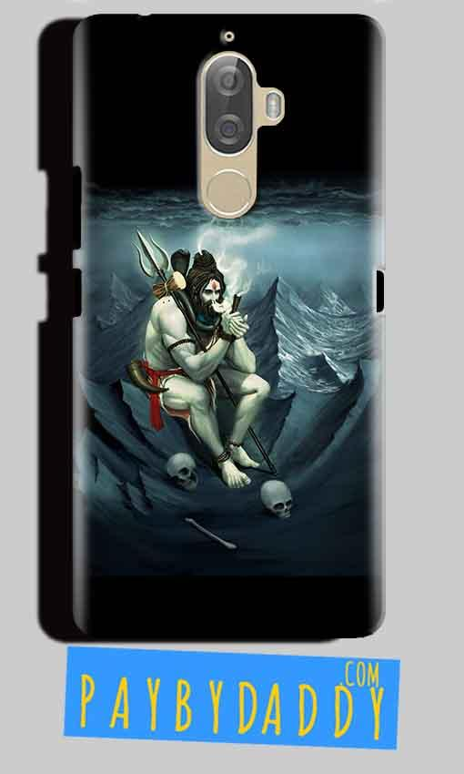 Lenovo K8 Plus Mobile Covers Cases Shiva Smoking - Lowest Price - Paybydaddy.com