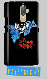 Lenovo K8 Plus Mobile Covers Cases om namha shivaye with damru - Lowest Price - Paybydaddy.com