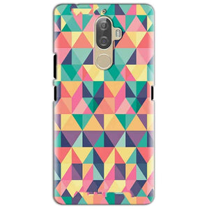Lenovo K8 Mobile Covers Cases Prisma coloured design - Lowest Price - Paybydaddy.com