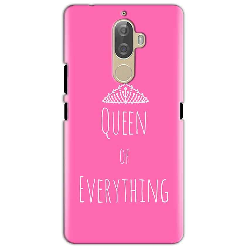 Lenovo K8 Mobile Covers Cases Queen Of Everything Pink White - Lowest Price - Paybydaddy.com