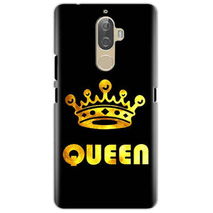 Lenovo K8 Mobile Covers Cases Queen With Crown in gold - Lowest Price - Paybydaddy.com
