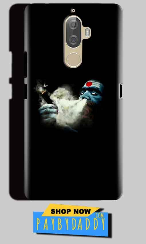 Lenovo K8 Mobile Covers Cases Shiva Aghori Smoking - Lowest Price - Paybydaddy.com