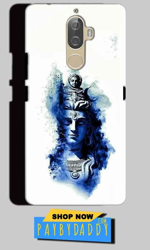 Lenovo K8 Mobile Covers Cases Shiva Blue White - Lowest Price - Paybydaddy.com