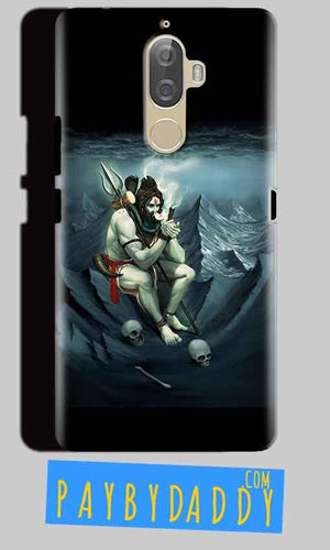Lenovo K8 Mobile Covers Cases Shiva Smoking - Lowest Price - Paybydaddy.com