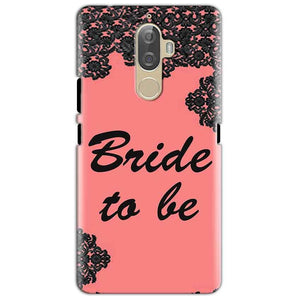 Lenovo K8 Mobile Covers Cases Mobile Covers Cases bride to be with ring Black Pink - Lowest Price - Paybydaddy.com