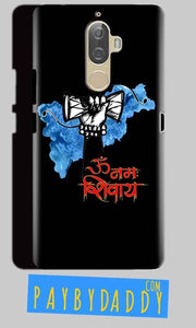 Lenovo K8 Mobile Covers Cases om namha shivaye with damru - Lowest Price - Paybydaddy.com