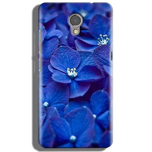 Lenovo P2 Mobile Covers Cases Blue flower - Lowest Price - Paybydaddy.com