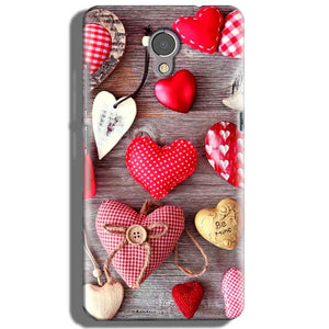 Lenovo P2 Mobile Covers Cases Hearts- Lowest Price - Paybydaddy.com