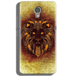 Lenovo P2 Mobile Covers Cases Lion face art - Lowest Price - Paybydaddy.com