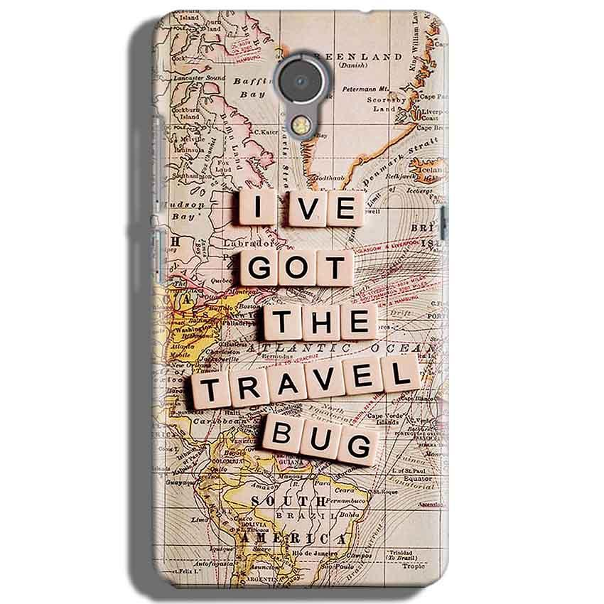 Lenovo P2 Mobile Covers Cases Live Travel Bug - Lowest Price - Paybydaddy.com