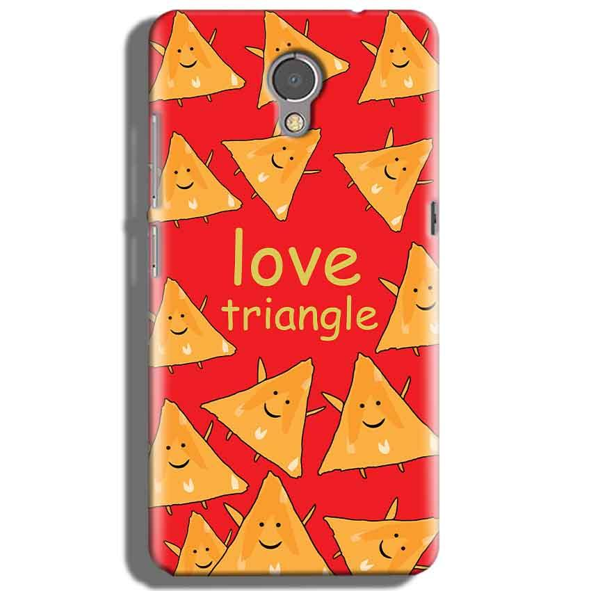 Lenovo P2 Mobile Covers Cases Love Triangle - Lowest Price - Paybydaddy.com