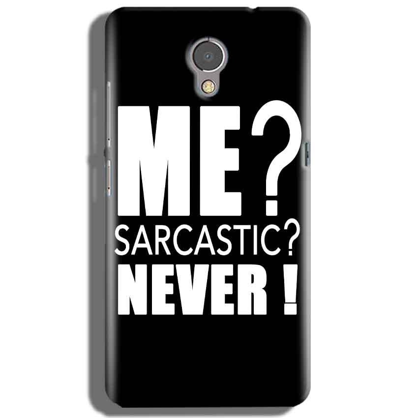 Lenovo P2 Mobile Covers Cases Me sarcastic - Lowest Price - Paybydaddy.com