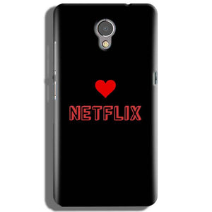Lenovo P2 Mobile Covers Cases NETFLIX WITH HEART - Lowest Price - Paybydaddy.com