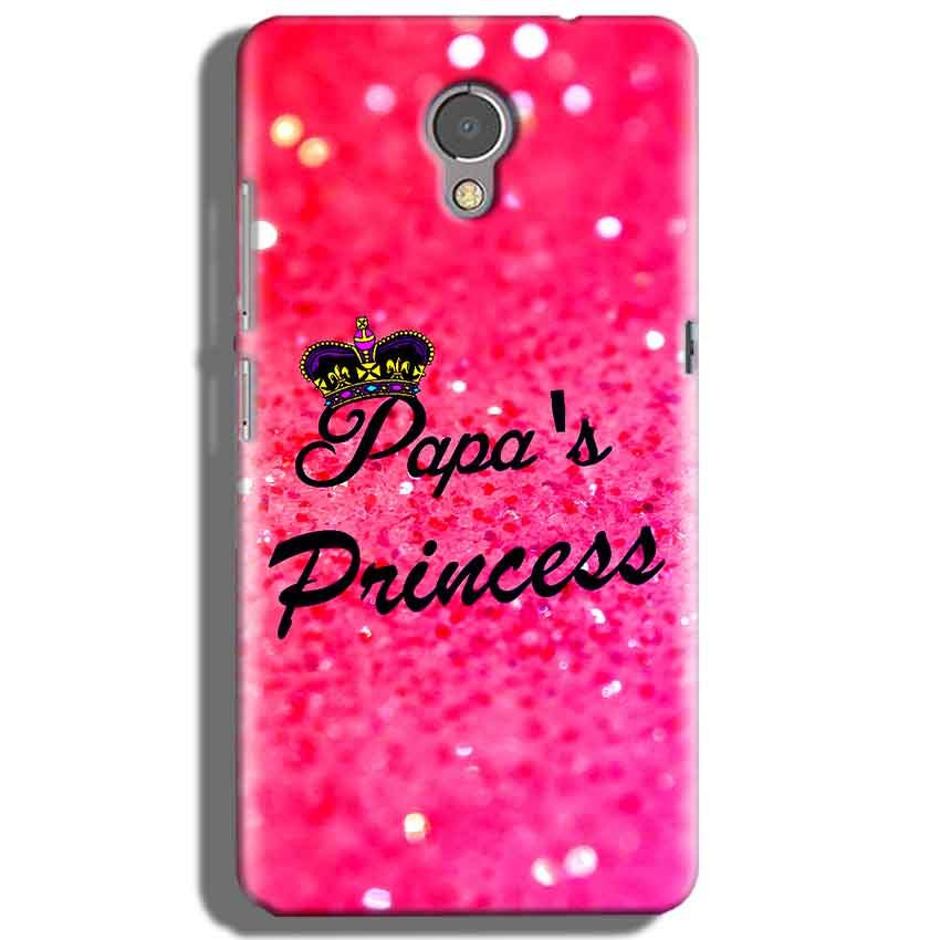 Lenovo P2 Mobile Covers Cases PAPA PRINCESS - Lowest Price - Paybydaddy.com