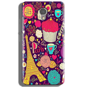 Lenovo P2 Mobile Covers Cases Paris Sweet love - Lowest Price - Paybydaddy.com