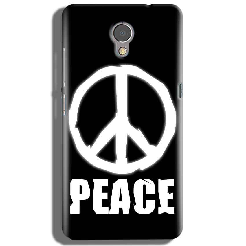 Lenovo P2 Mobile Covers Cases Peace Sign In White - Lowest Price - Paybydaddy.com