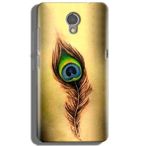Lenovo P2 Mobile Covers Cases Peacock coloured art - Lowest Price - Paybydaddy.com