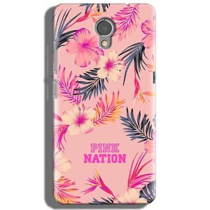 Lenovo P2 Mobile Covers Cases Pink nation - Lowest Price - Paybydaddy.com