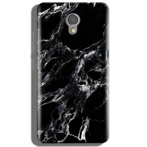 Lenovo P2 Mobile Covers Cases Pure Black Marble Texture - Lowest Price - Paybydaddy.com