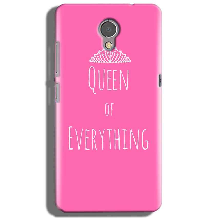 Lenovo P2 Mobile Covers Cases Queen Of Everything Pink White - Lowest Price - Paybydaddy.com