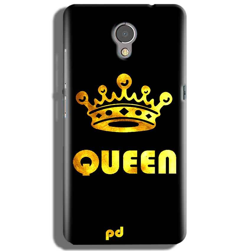 Lenovo P2 Mobile Covers Cases Queen With Crown in gold - Lowest Price - Paybydaddy.com
