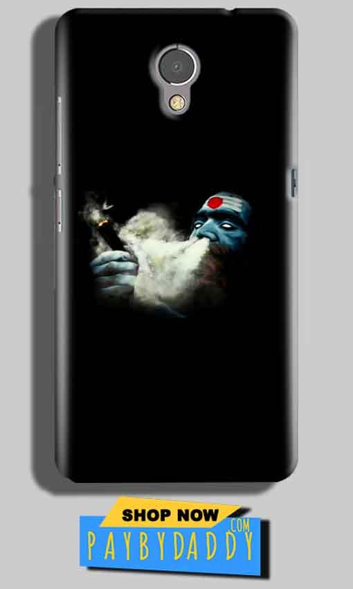 Lenovo P2 Mobile Covers Cases Shiva Aghori Smoking - Lowest Price - Paybydaddy.com