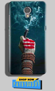 Lenovo P2 Mobile Covers Cases Shiva Hand With Clilam - Lowest Price - Paybydaddy.com