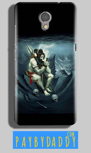 Lenovo P2 Mobile Covers Cases Shiva Smoking - Lowest Price - Paybydaddy.com