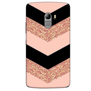 Lenovo Vibe K4 Note Mobile Covers Cases Black down arrow Pattern - Lowest Price - Paybydaddy.com