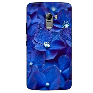 Lenovo Vibe K4 Note Mobile Covers Cases Blue flower - Lowest Price - Paybydaddy.com