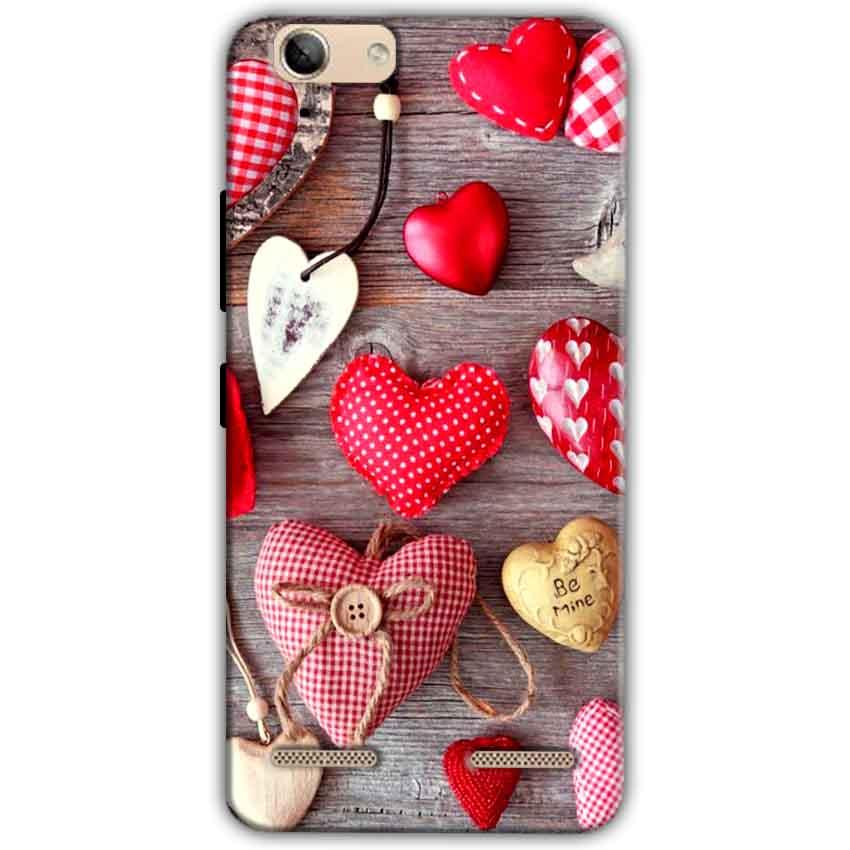 Lenovo Vibe K5 Plus Mobile Covers Cases Hearts- Lowest Price - Paybydaddy.com