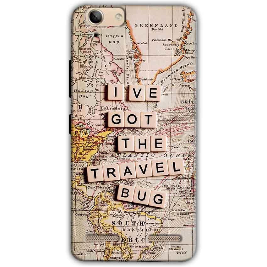 Lenovo Vibe K5 Plus Mobile Covers Cases Live Travel Bug - Lowest Price - Paybydaddy.com
