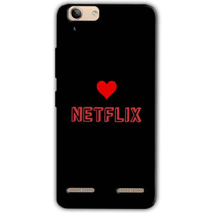 Lenovo Vibe K5 Plus Mobile Covers Cases NETFLIX WITH HEART - Lowest Price - Paybydaddy.com