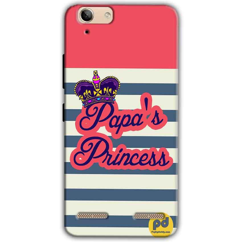 Lenovo Vibe K5 Plus Mobile Covers Cases Papas Princess - Lowest Price - Paybydaddy.com