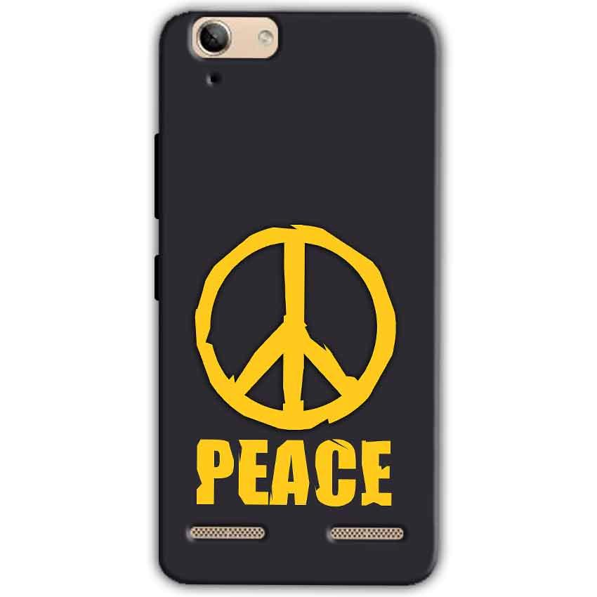 Lenovo Vibe K5 Plus Mobile Covers Cases Peace Blue Yellow - Lowest Price - Paybydaddy.com