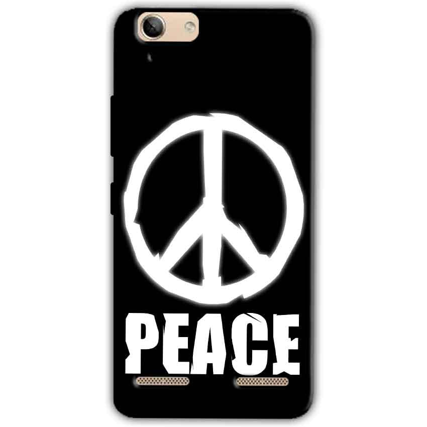 Lenovo Vibe K5 Plus Mobile Covers Cases Peace Sign In White - Lowest Price - Paybydaddy.com
