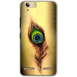 Lenovo Vibe K5 Plus Mobile Covers Cases Peacock coloured art - Lowest Price - Paybydaddy.com