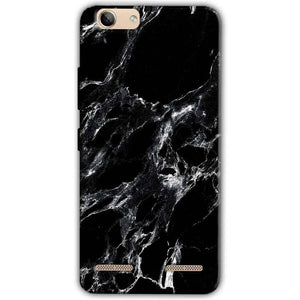Lenovo Vibe K5 Plus Mobile Covers Cases Pure Black Marble Texture - Lowest Price - Paybydaddy.com